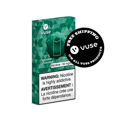 Infused Cucumber Vype (Vuse) Cartridges