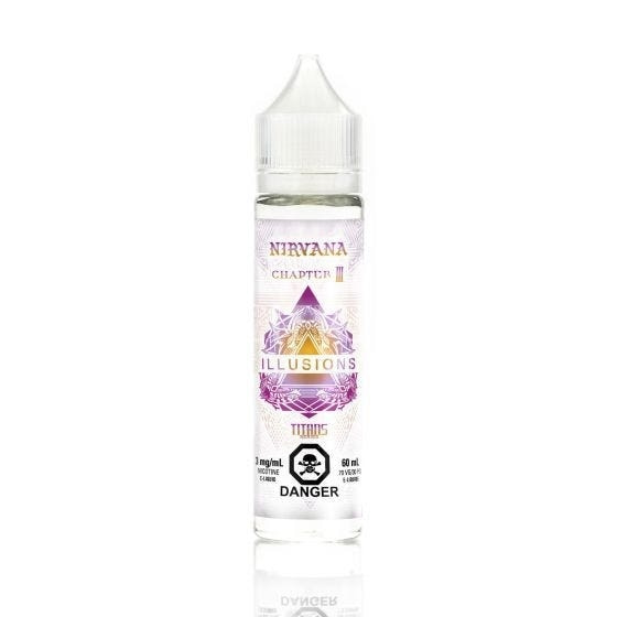 Nirvana E-Liquid by Illusions Vapor- 60ML