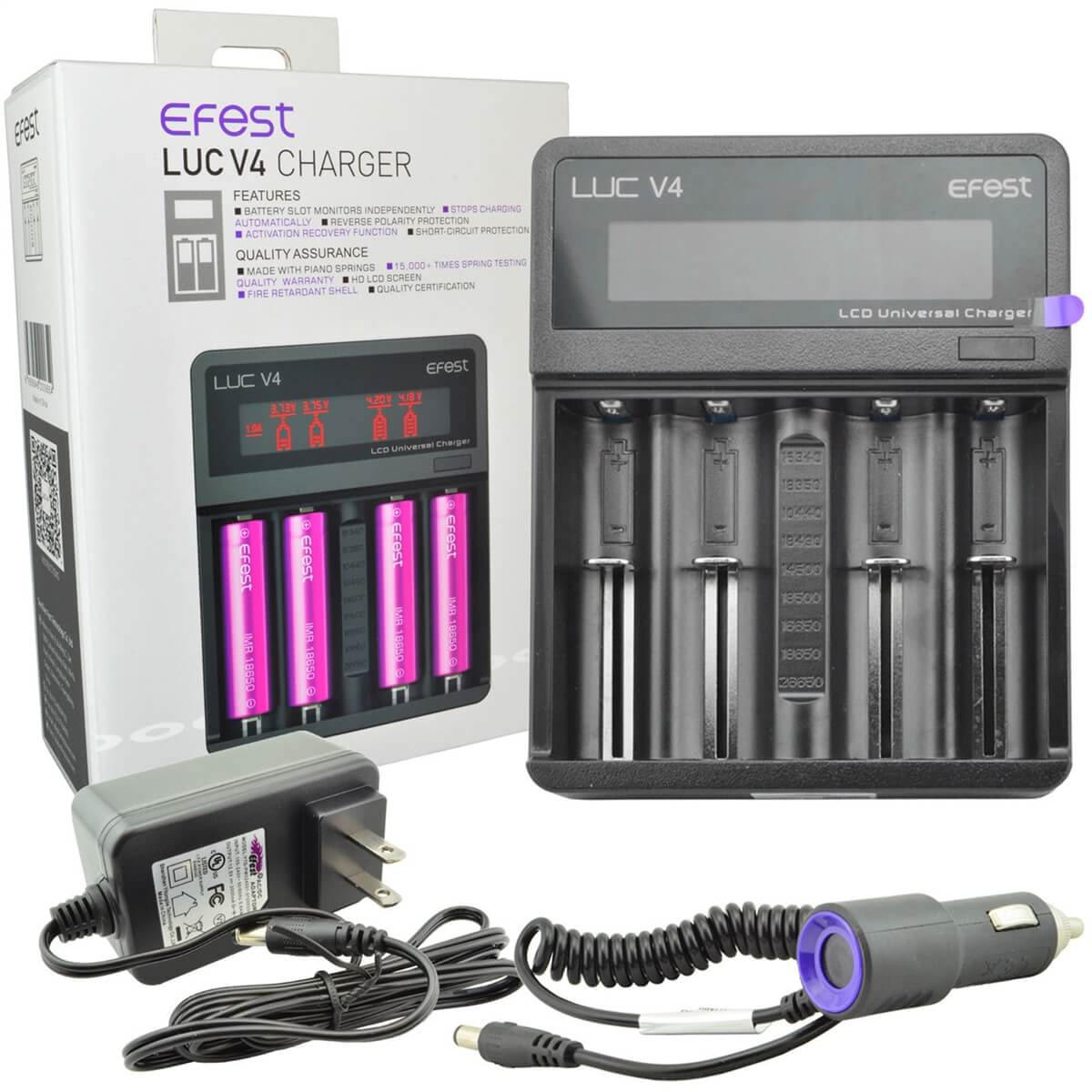 Efest Luc V4 Battery Charger