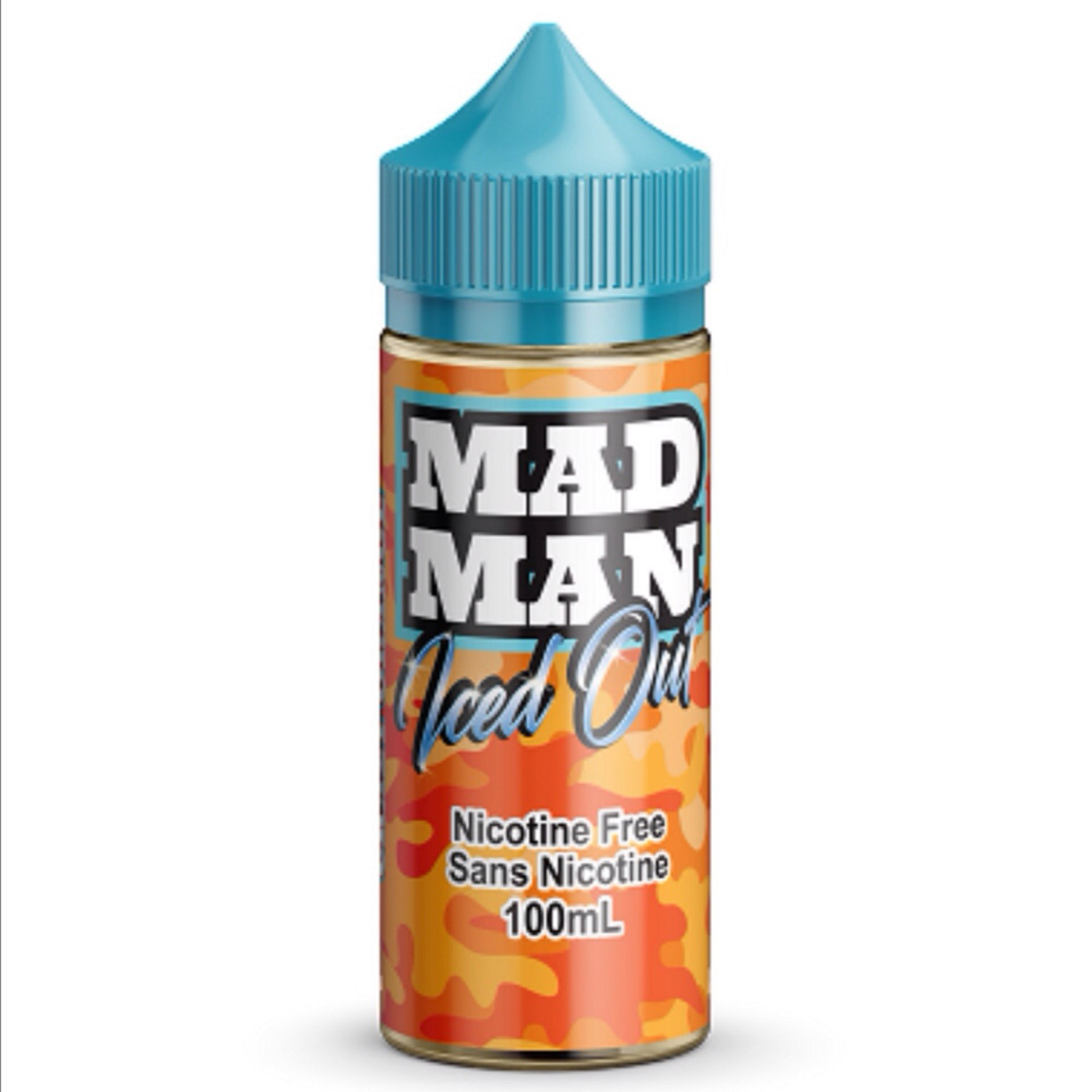 Mad Man Crazy Orange Iced Out