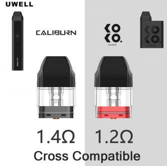 Uwell Caliburn & KOKO Replacement Pods
