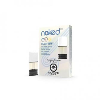 STLTH Pod Pack Naked100 Really Berry