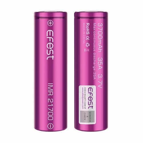 Efest IMR 21700 Battery Purple