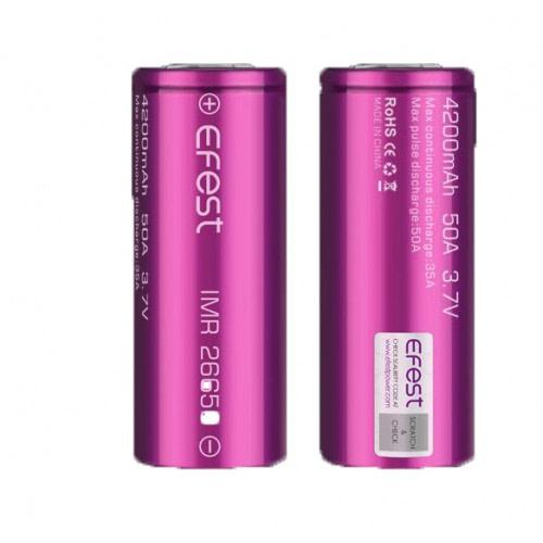 Efest New Batterie IMR 26650, 35/50 A, 4200 mAh