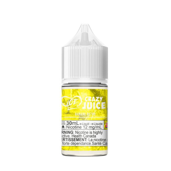 Crazy Juice Banana Retro Ice Nic Salt