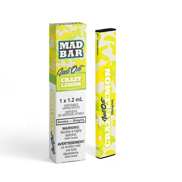 MadBar Twisted Lemon Strawberry Iced Out Disposable