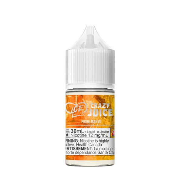 Crazy Juice Mango Pear Ice Nic Salt
